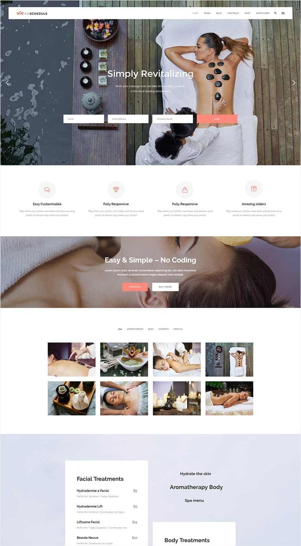 Health & Spa Home